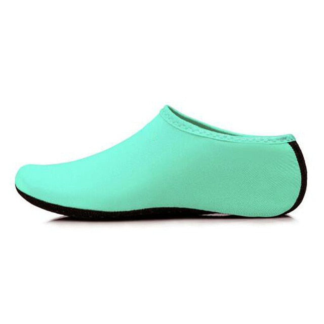 New Beach Swimming Water Sport Socks Anti Slip Shoes Yoga Fitness Dance Swim Surfing Diving Underwater Shoes for Kids Men Women