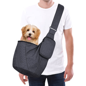 Petacc Pet Carrier Outdoor Travel Dog Cat Backpack Carry Bag Stroller Sling with Adjustable Shoulder Strap for Small Dogs