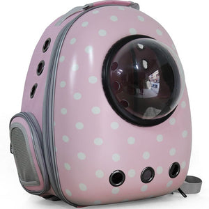 Wholesale Lightweight Waterproof Outdoor Bubble Astronaut Breathable Bag Small Cat Capsule Pet Travel Dog Backpack Carrier