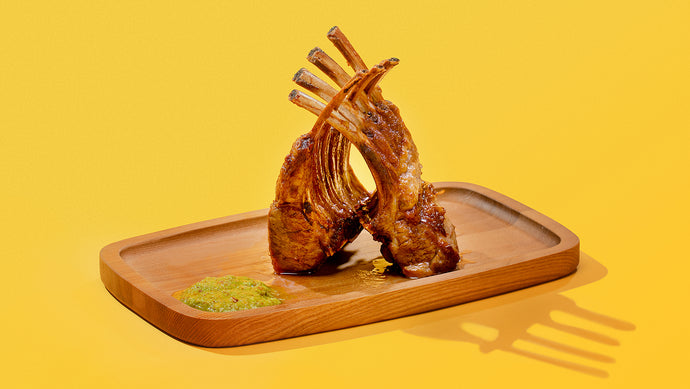 Fennel Pollen-Roasted Rack of Lamb