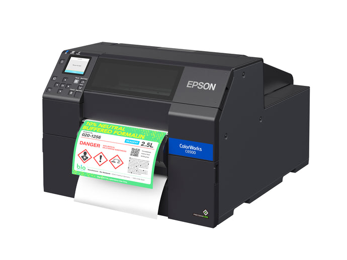 EPSON CW-6500P Series Color Inkjet Label Printer