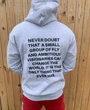 "ASH ""NEVER DOUBT"" HOODIE"
