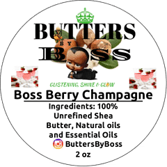 Boss Berry Champagne as Compared to Strawberry and Champagne BBW Collection - Butter By Boss