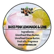 Boss Pink Lemonade-Lime Compared to Pink Lemonade-Lime Collection