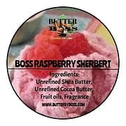 Boss Raspberry Sherbert as Compared to Raspberry Sherbert type Collection