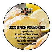 Boss Lemon Pound Cake as Compared to Lemon Pound Cake type Collection