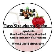 Boss Strawberry Shake as Signature  Collection