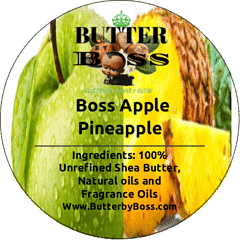 Boss Apple Pineapple Signature Scent Collection - Butter By Boss