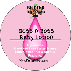 Boss and Boss Baby Lotion as Compared to Johnson and Johnson Collection - Butter By Boss