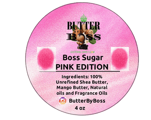 Boss Sugar as Compared to Aquolina Pink Sugar Collection - Butter By Boss