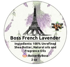 Boss French Lavender as Compared to BBW French Lavender & Honey Collection - Butter By Boss