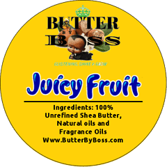 Boss Juicy Fruit as Compared to Juicy Fruit Collection