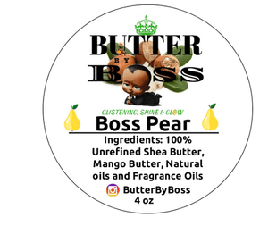 Boss Pear as Compared to Victoria Secret Pear Glace Collection - Butter By Boss