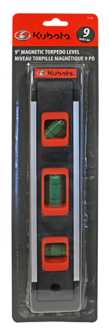 "12128 - 9"" Torpedo Level/Niveau 9 po Torpedo - Lots of 12/Caisse de 12"
