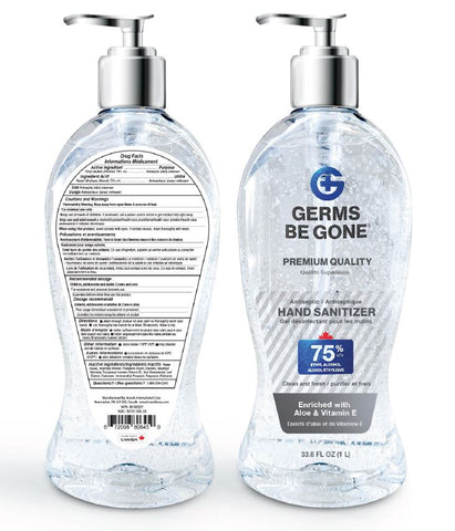 99849 - 1L Germs Be Gone Hand Sanitizer