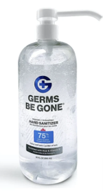 99855 - 32oz Germs Be Gone Hand Sanitizer - Dispenser Stand Refill