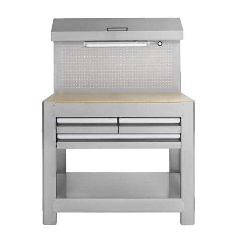 99806- Toolmaster Stainless Steel Work Bench