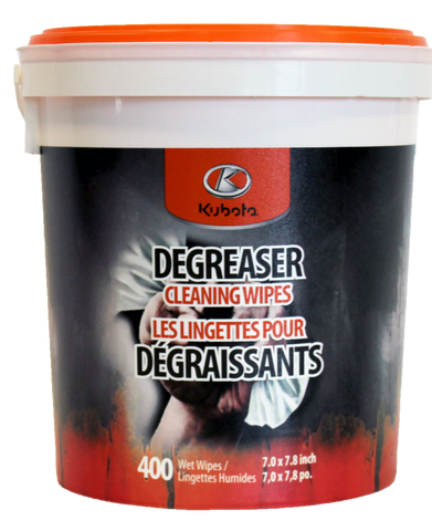 99356 - Heaty Duty Degreaser Wipes / Lingettes Robustes de Dégraissage - Lots of 4 / Caisse de 4