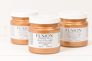 Copper Metallic Fusion Mineral Paint
