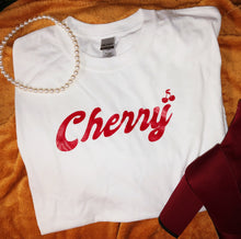 Load image into Gallery viewer, Cherry tee shirt