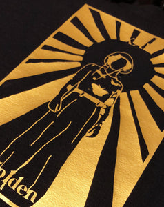 Golden Tarot tee