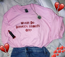 Load image into Gallery viewer, Broken Hearts tee shirt