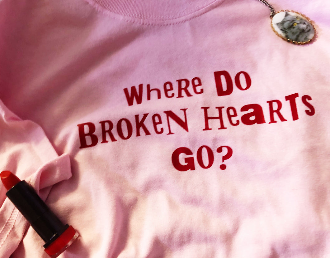 Broken Hearts tee shirt
