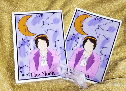 The Moon tarot print