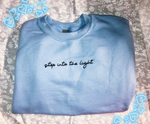Load image into Gallery viewer, Into the Light crewneck sweatshirt