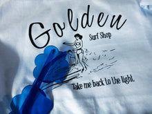 Load image into Gallery viewer, Golden Surf Shop tee shirt