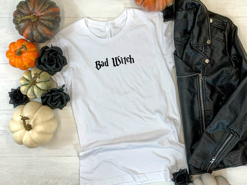 Bad Witch tee shirt