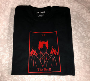 The Devil tarot tee