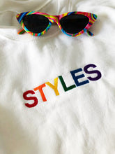 Load image into Gallery viewer, Rainbow Styles crewneck sweatshirt