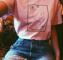 Load image into Gallery viewer, The Lovers tarot tee shirt