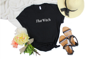 That Witch tee shirt