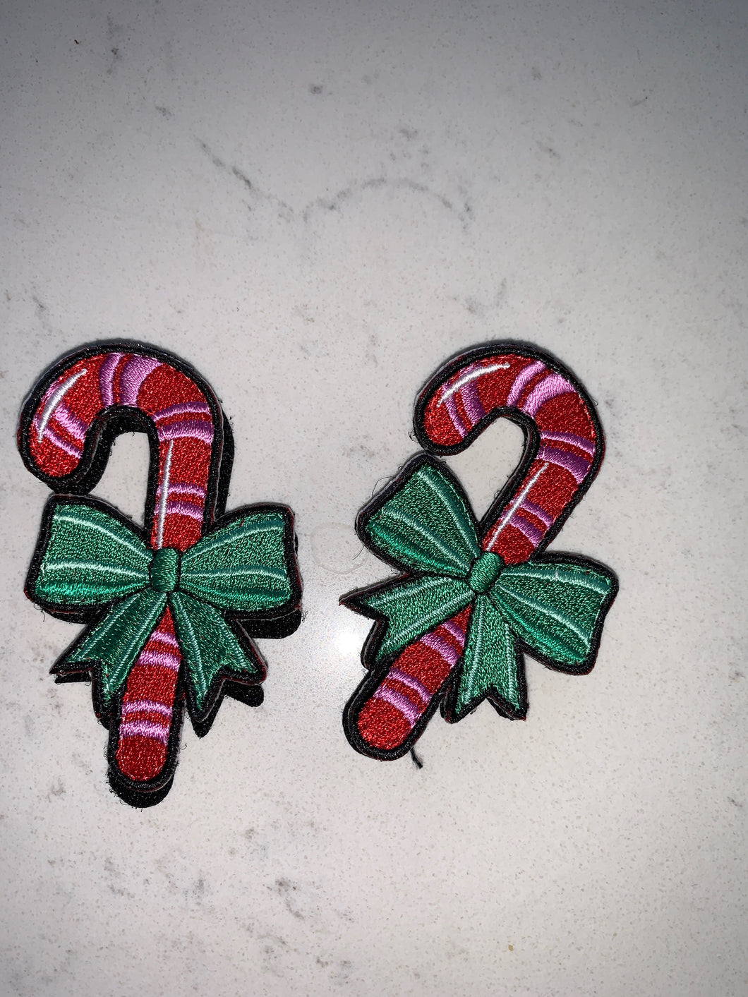 Flair Patches- Candy Cane