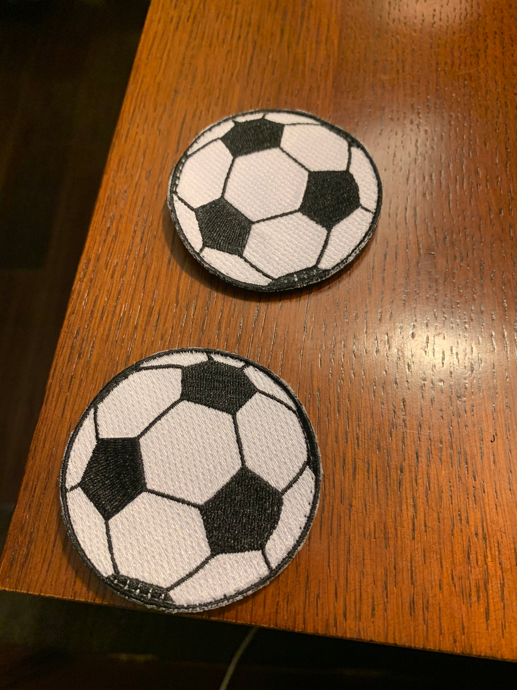 Flair Patch -Soccer Ball