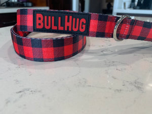 Combo Set Harness & Leash- Buffalo Plaid