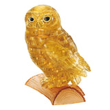 Crystal Puzzle Owl Gold 42pcs