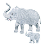 Crystal Puzzle Elephant set 46pcs