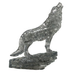 Crystal Puzzle Wolf Black 37pcs