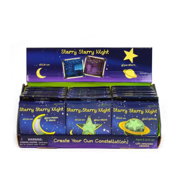 Stary Stary Night Stickers Glow In The Dark