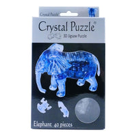 Crystal Puzzle Elephant 40pcs