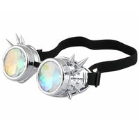 steampunk glasses steampunk optical illusion glasses optical illusion kaleidoscope glasses kaleidoscope illusion glasses illusion accessory illusion accessories