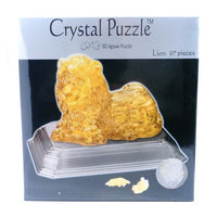 Crystal Puzzle Lion 97pcs