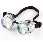 steampunk glasses steampunk optical illusion accessory optical illusion kaleidoscope glasses kaleidoscope illusion accessory illusion accessories