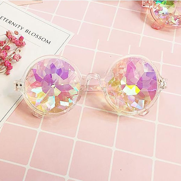 rainbow glasses optical illusion accessory kaleidoscope glasses kaleidoscope illusion glasses illusion costume ideas illusion accessory illusion accessories