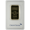 Buy 1 oz Gold Bar Credit Suisse - RCM .9999 Fine Au - Valcambi Suisse