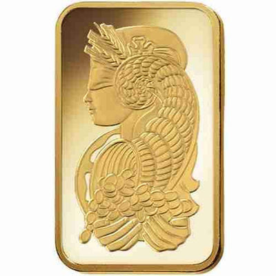 Buy 5 Gram Gold PAMP Suisse Bar Lady Fortuna Series 5g PAMP