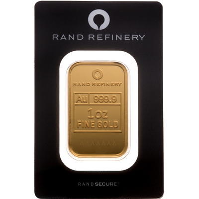 Buy 1 Oz Gold Bar from Rand Refinery For The Best Price